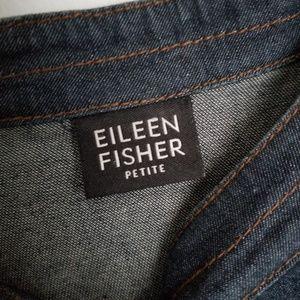 Eileen Fisher Jackets & Coats - Eileen Fisher petite denim jacket snap buttons